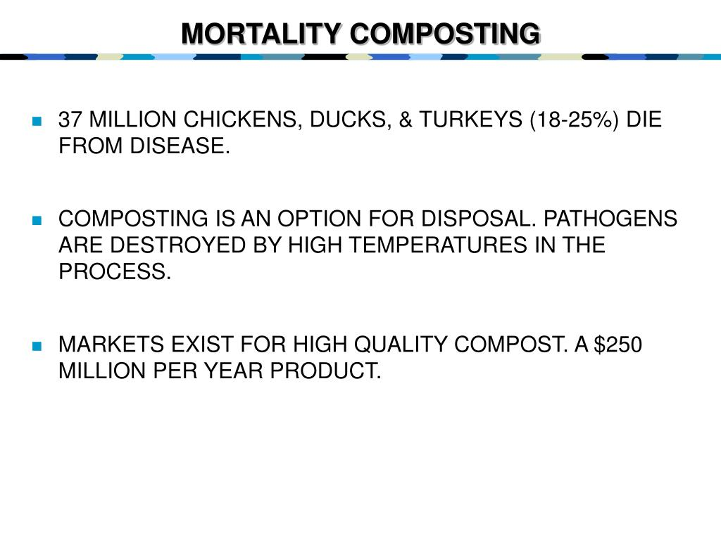 MORTALITY COMPOSTING
