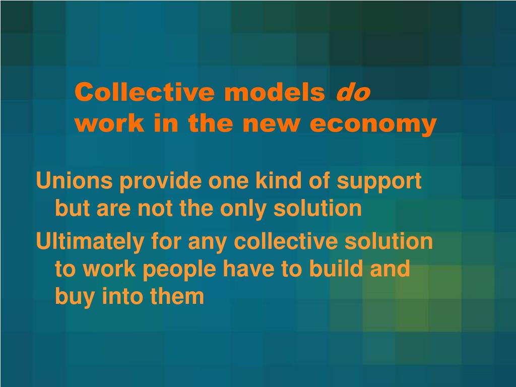 Collective models