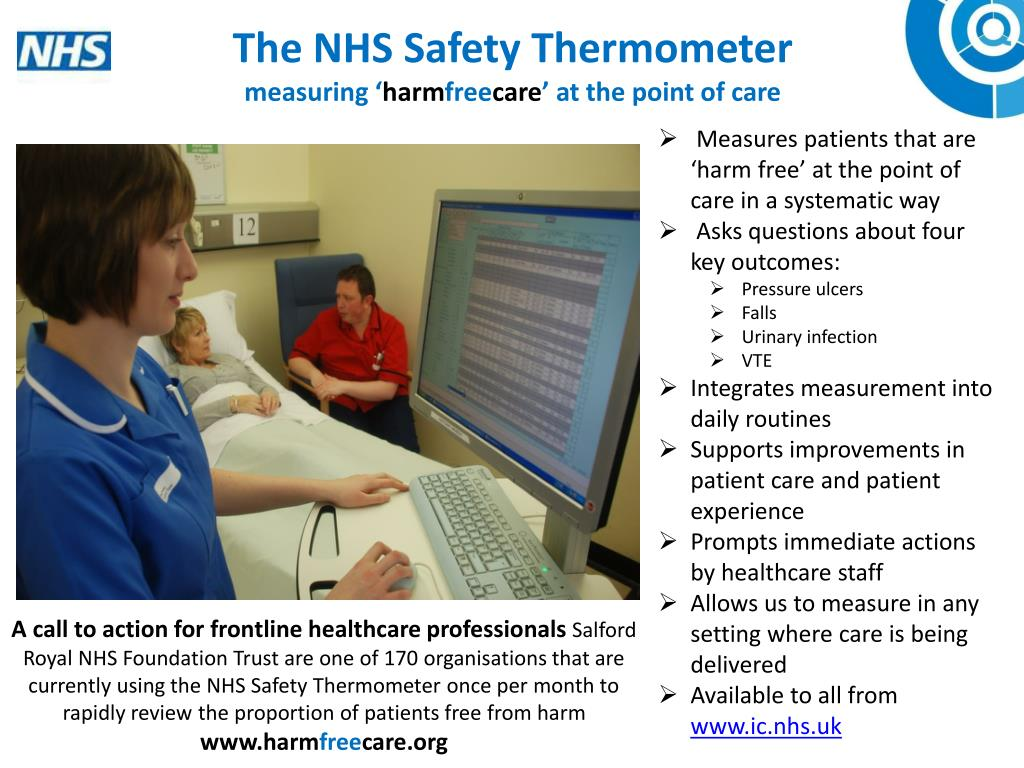 The NHS Safety Thermometer