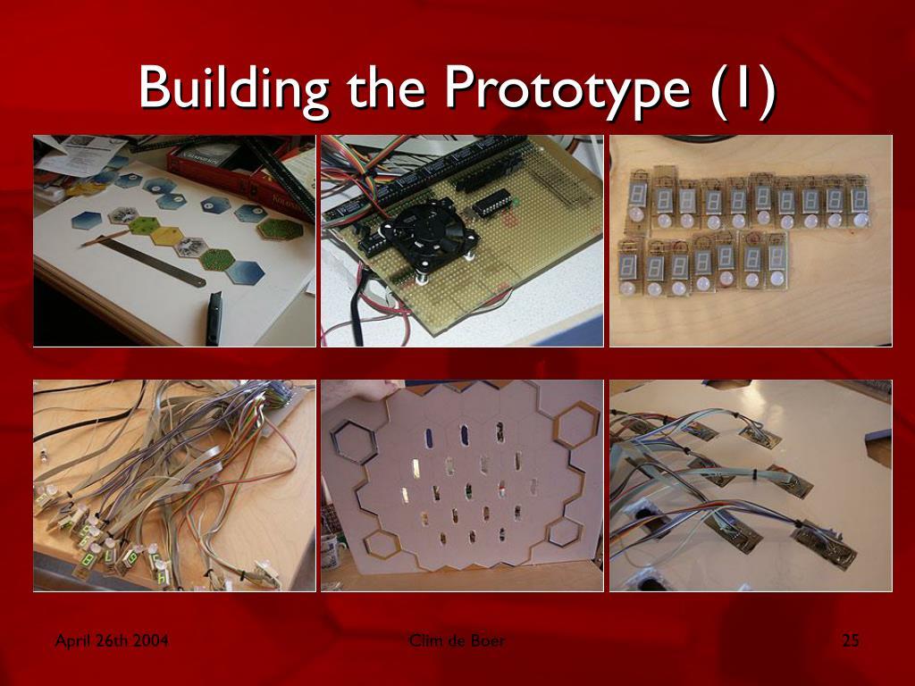 Building the Prototype (1)