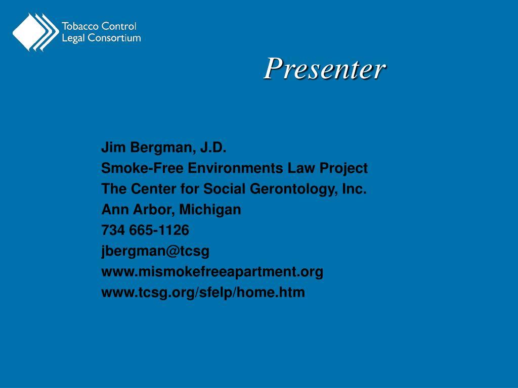 Jim Bergman, J.D.