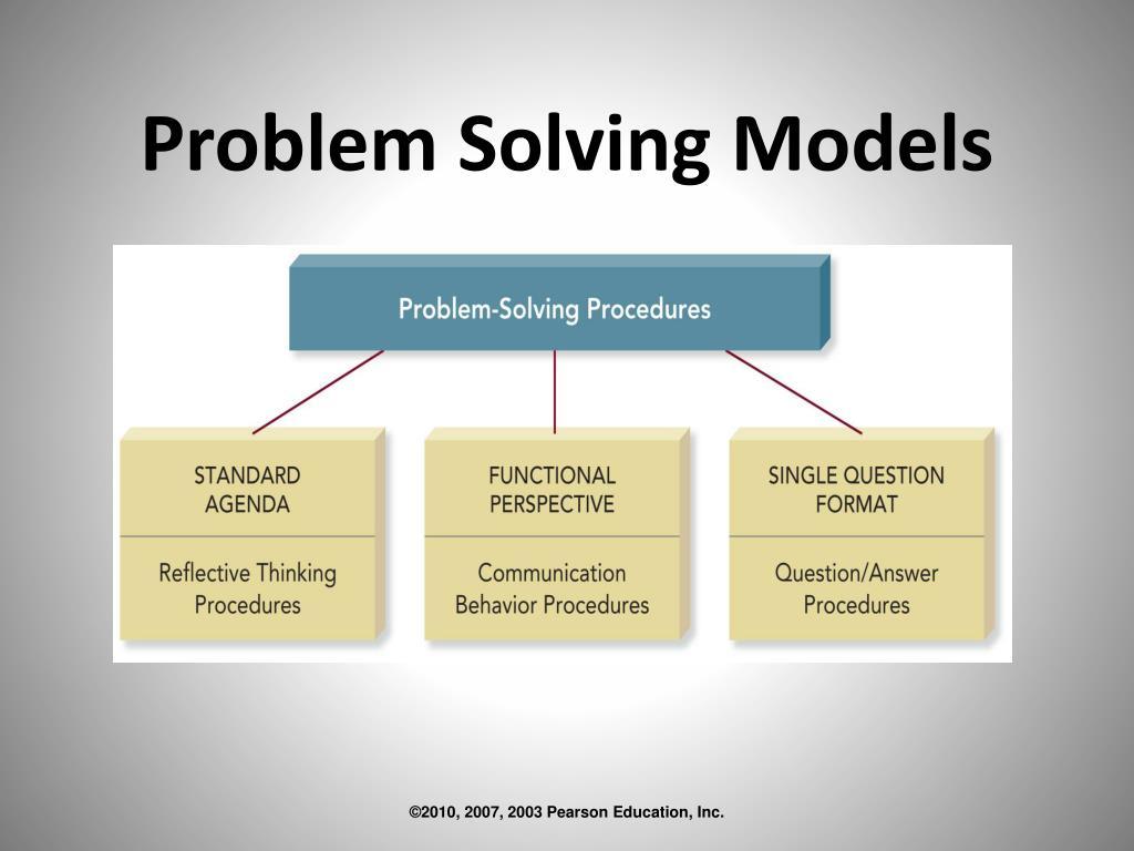 Problem Solving Models