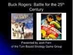 buck rogers battle for the 25 th century