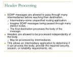 header processing
