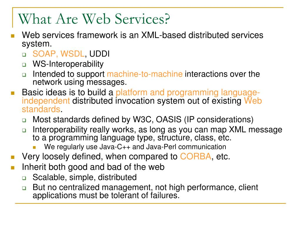 What Are Web Services?