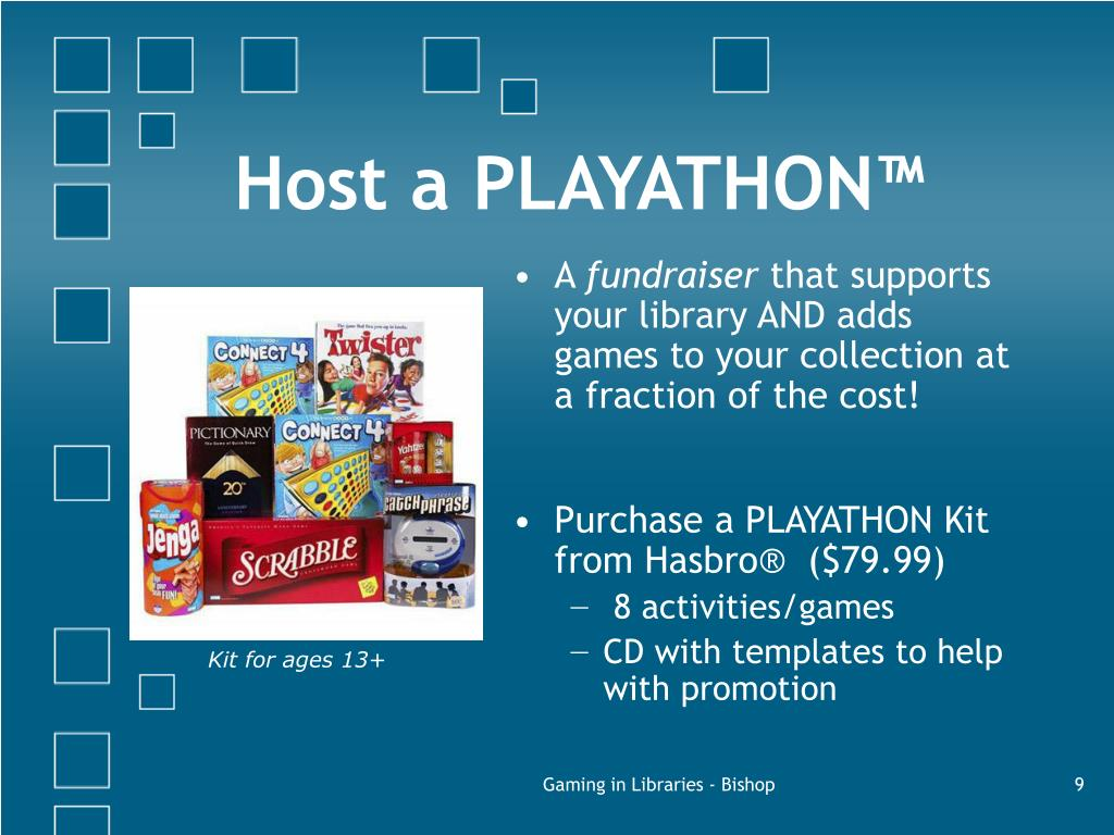 Host a PLAYATHON™