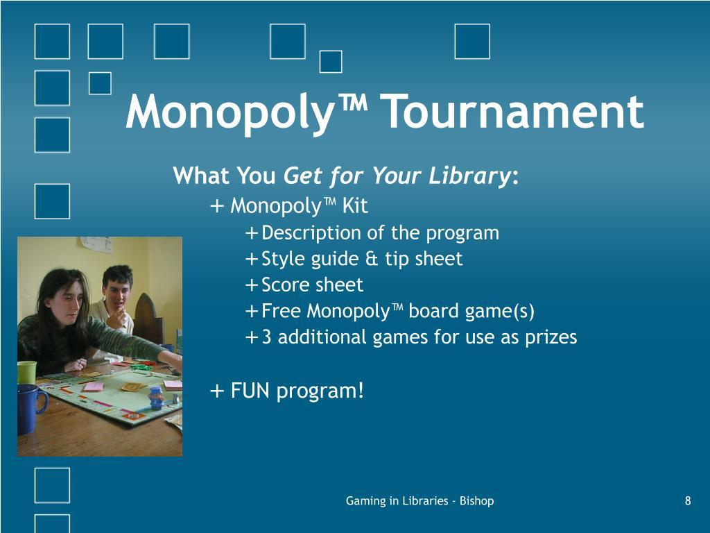 Monopoly™ Tournament