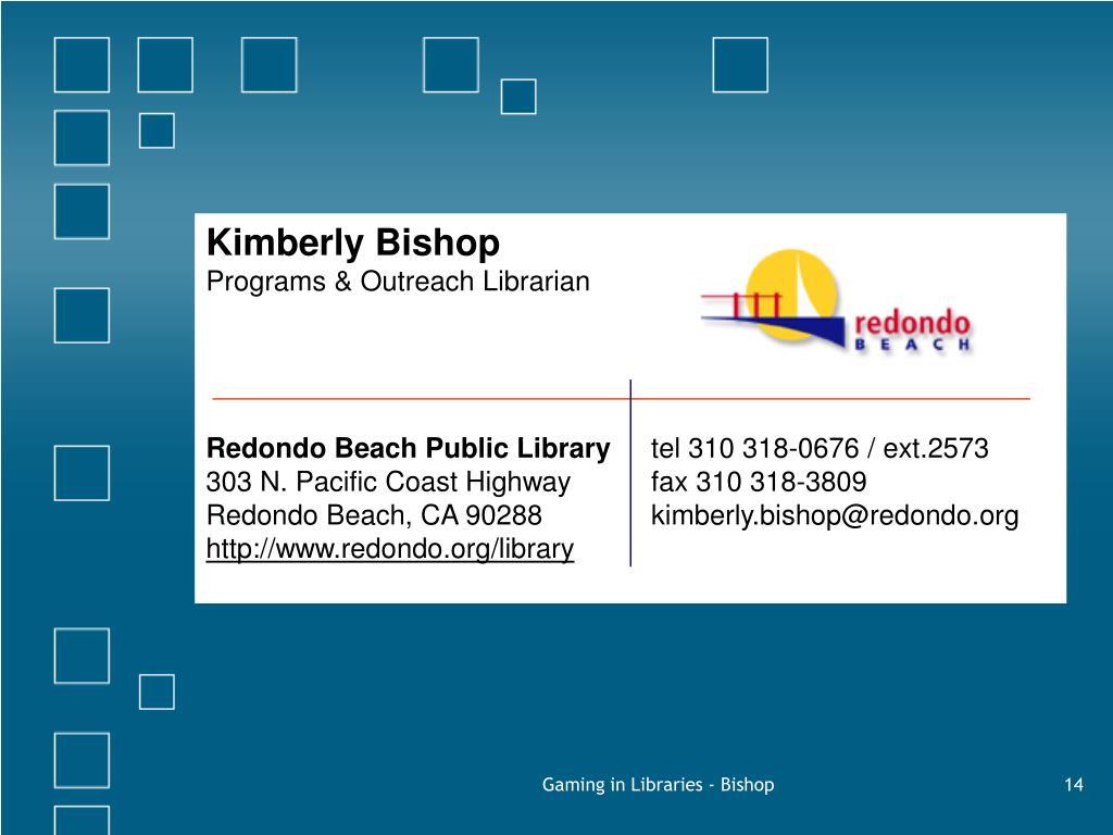 Kimberly Bishop