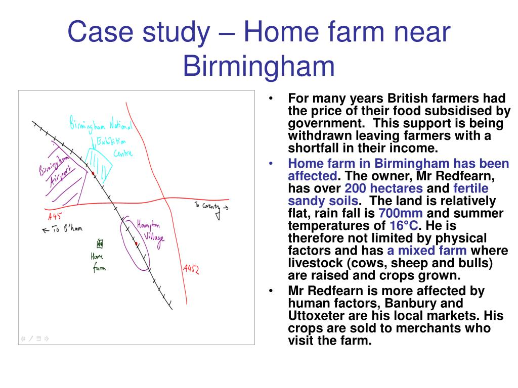 Case study – Home farm near Birmingham