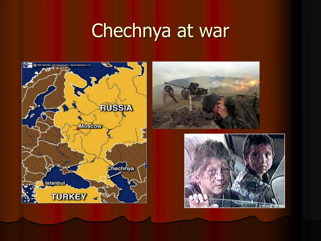 Chechnya at war