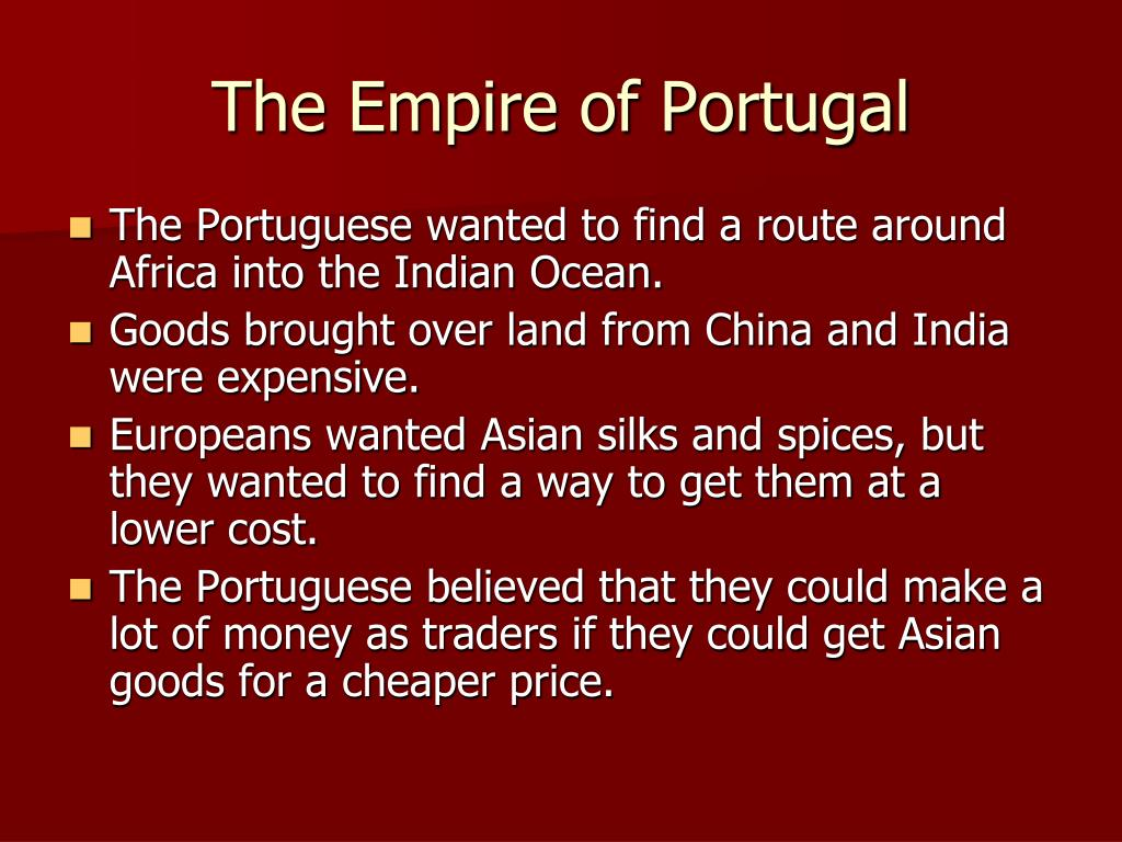 The Empire of Portugal