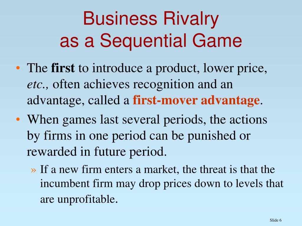 Business Rivalry