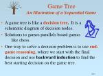 game tree an illustration of a sequential game