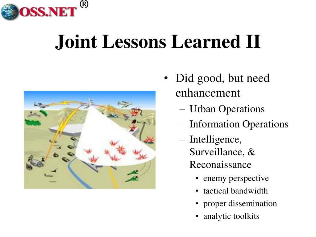 Joint Lessons Learned II