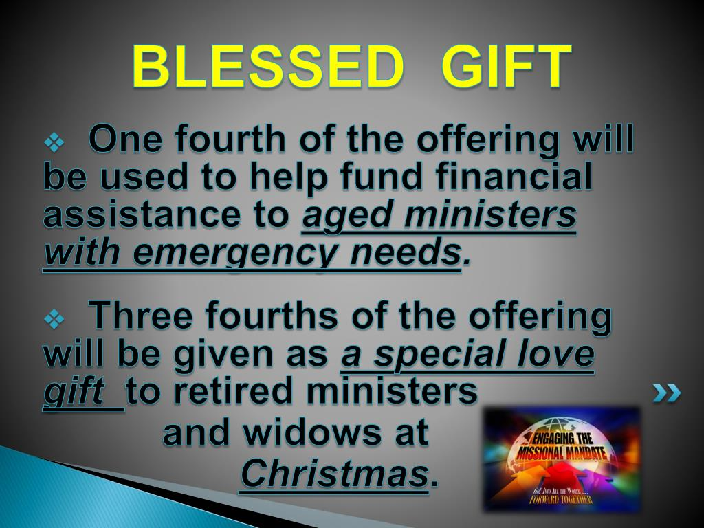 BLESSED  GIFT