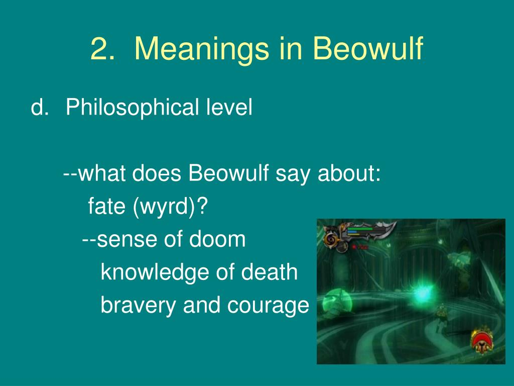 beowulf the ideal anglo saxon hero Sb anglo- saxon heroic poetry anglo saxon heroic poetry is the nearest one  can get to the oral pagan literature of the heroic age of germania of surviving.