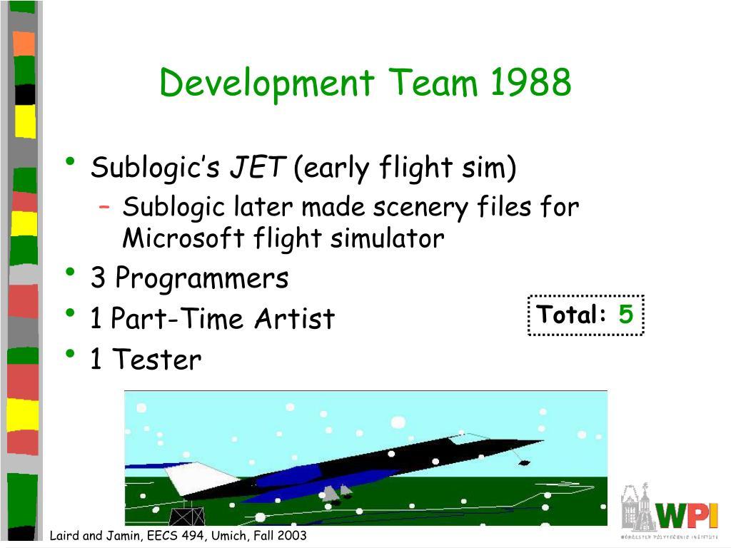 Development Team 1988