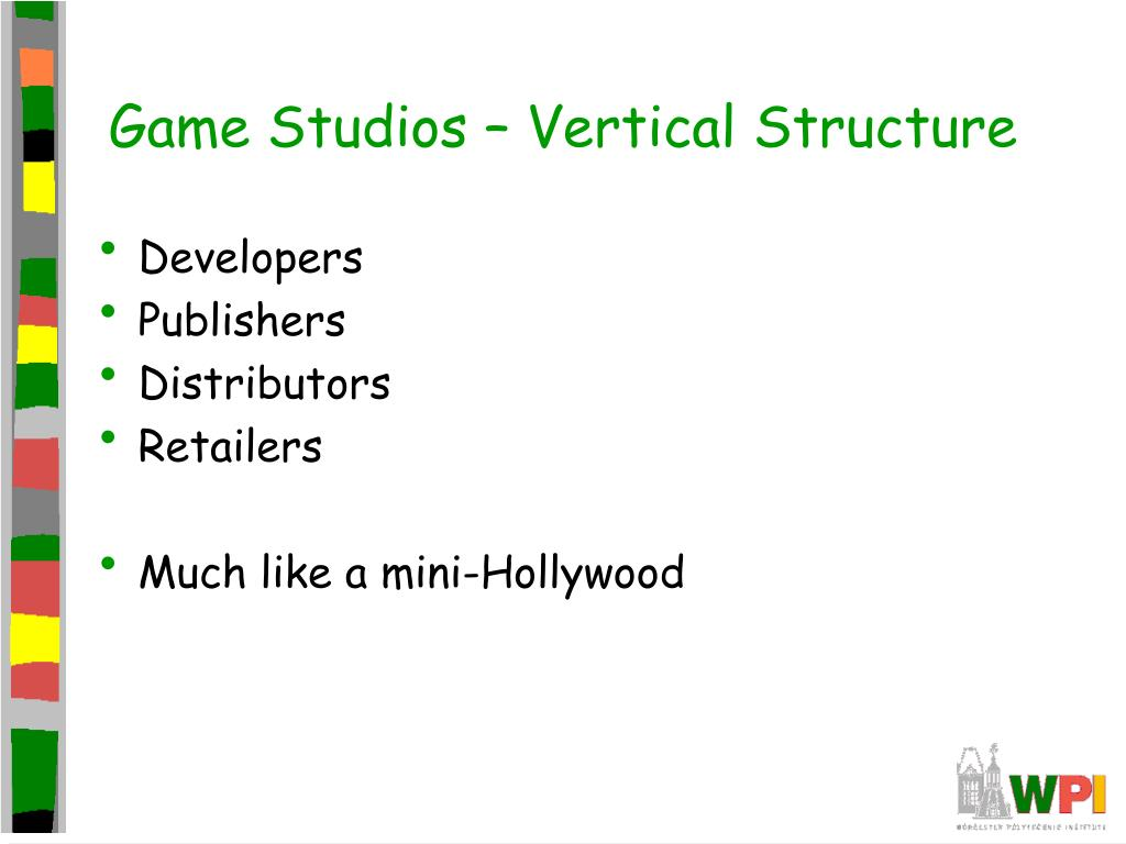 Game Studios – Vertical Structure