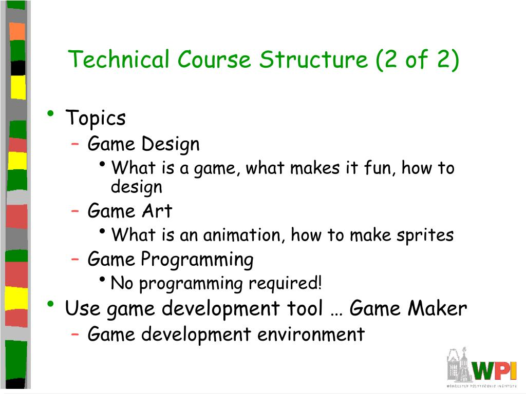 Technical Course Structure (2 of 2)