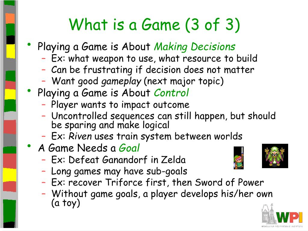 What is a Game (3 of 3)