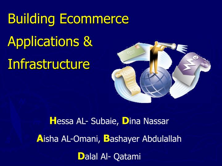 Building ecommerce applications infrastructure l.jpg