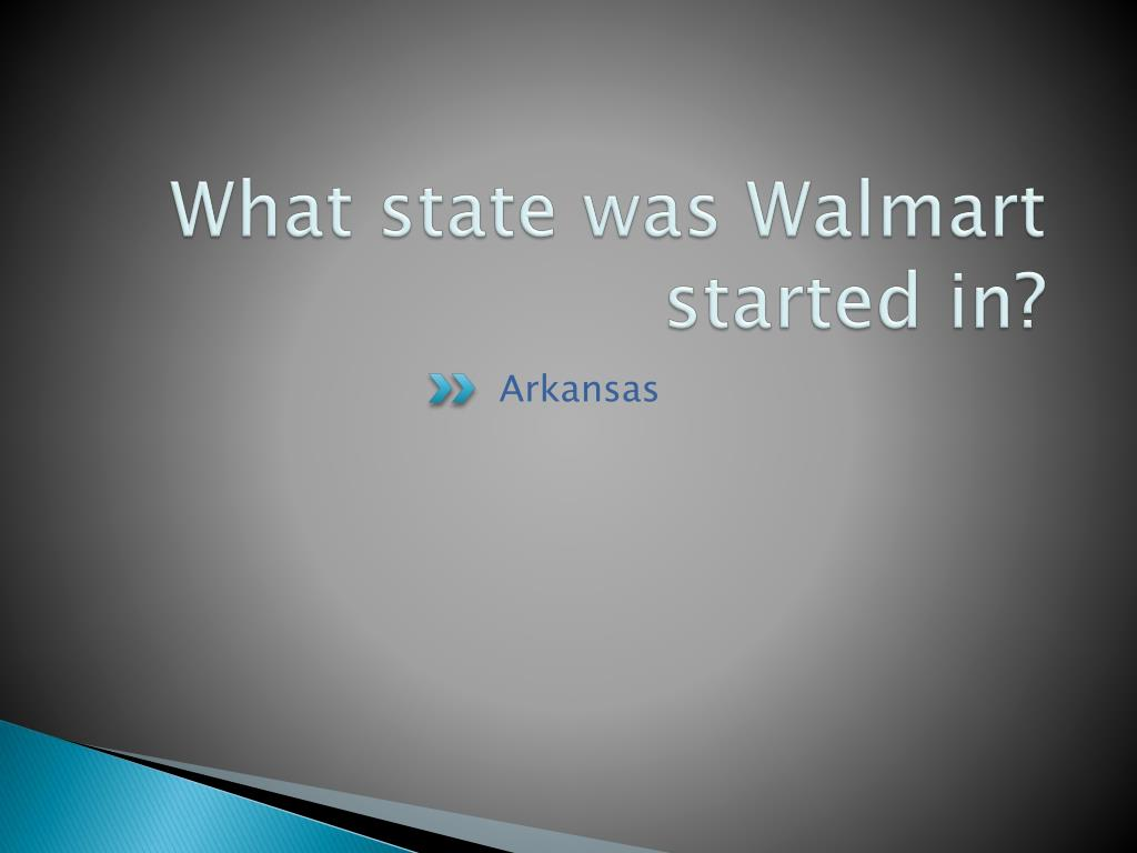 What state was