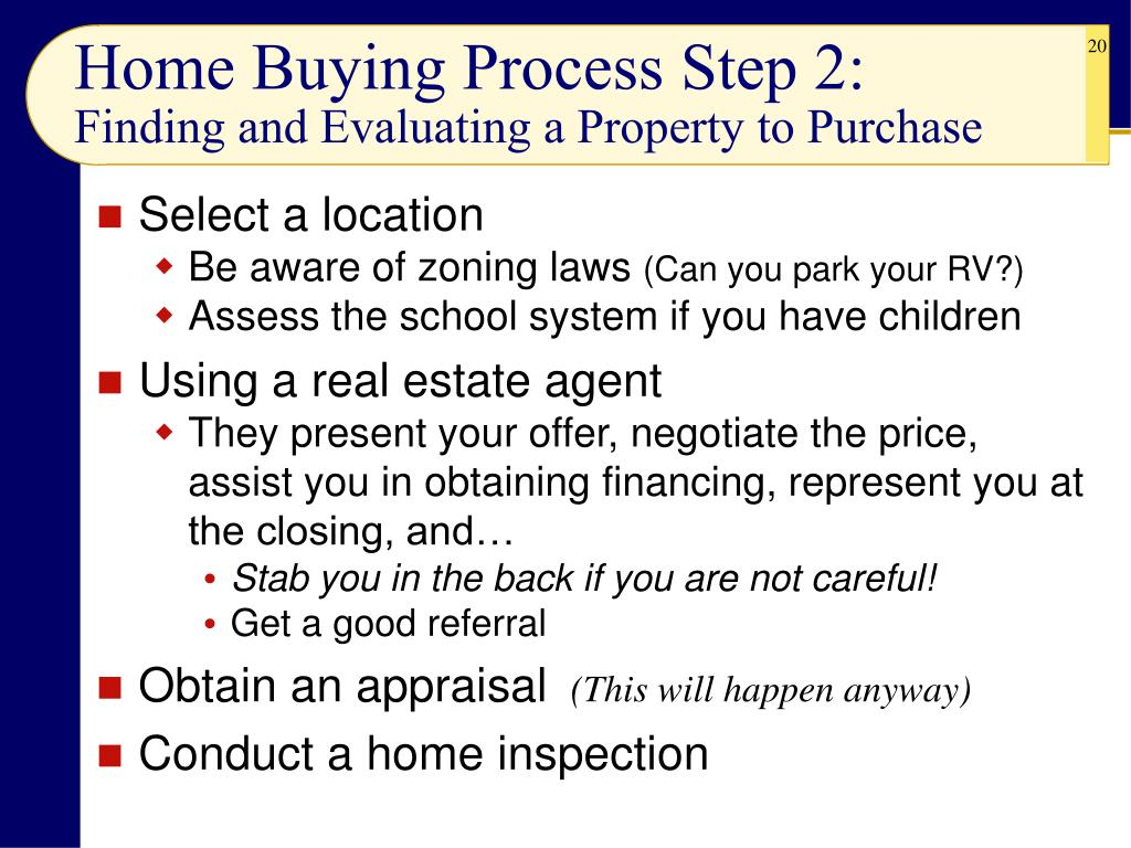 Home Buying Process Step 2: