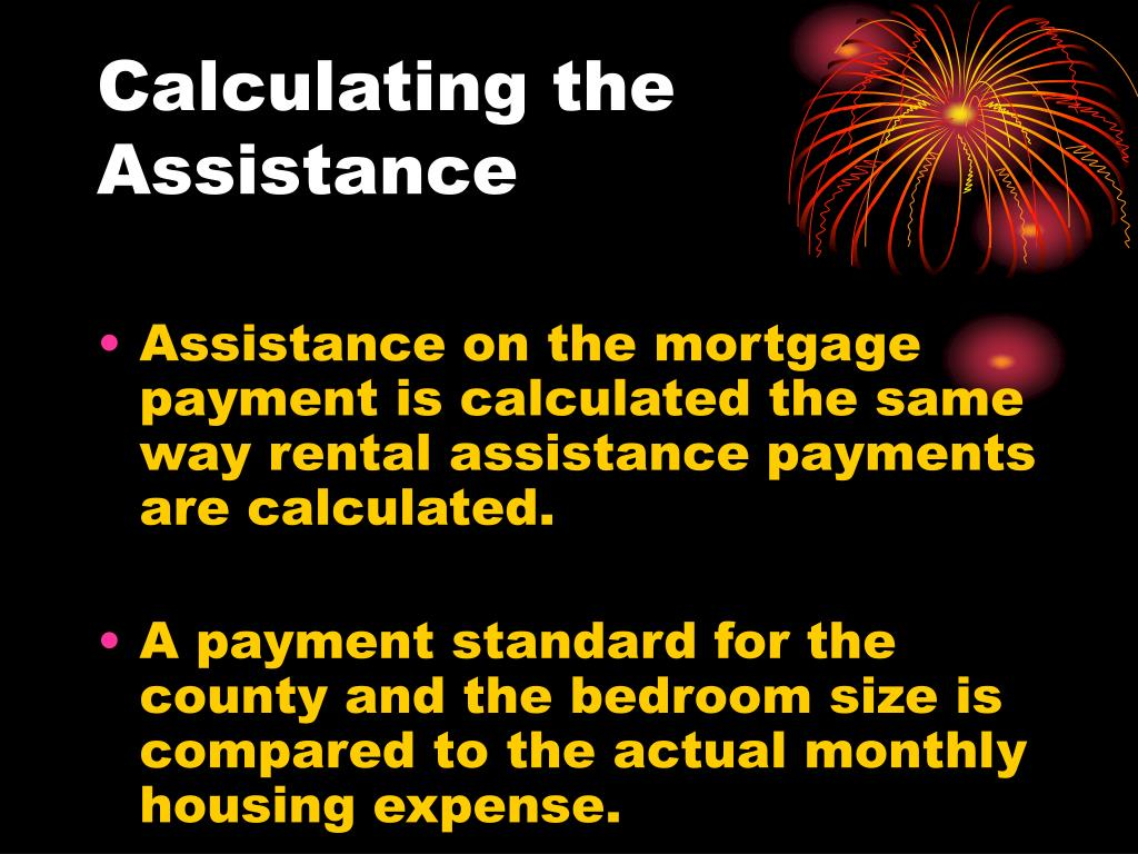 Calculating the Assistance