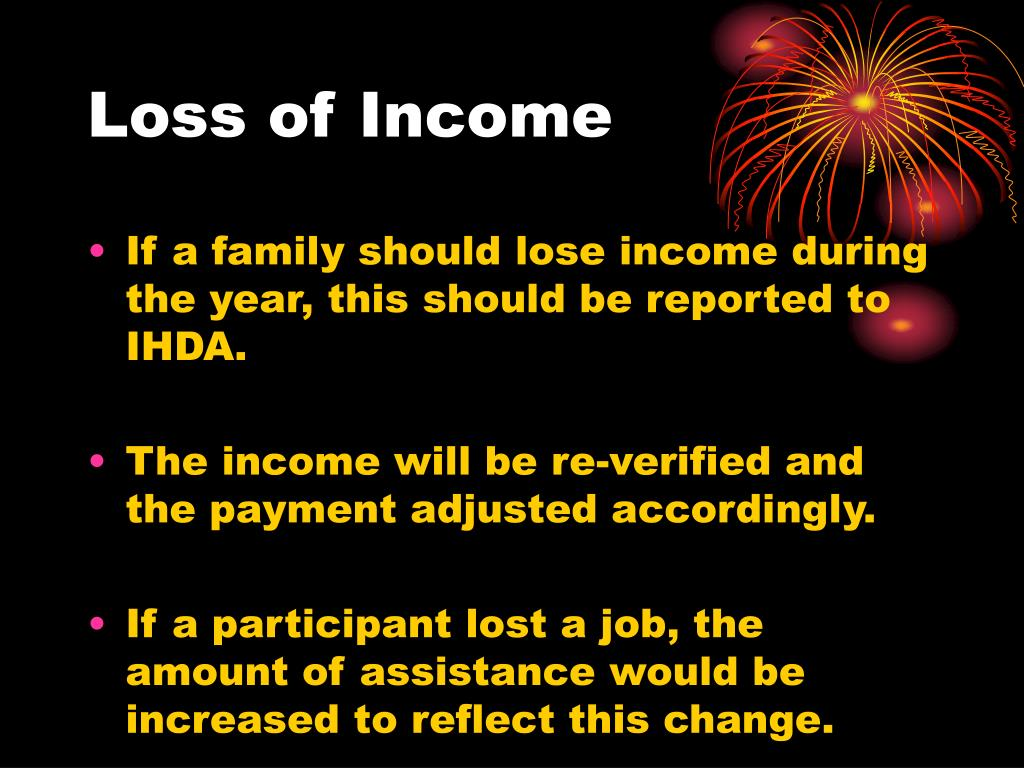Loss of Income