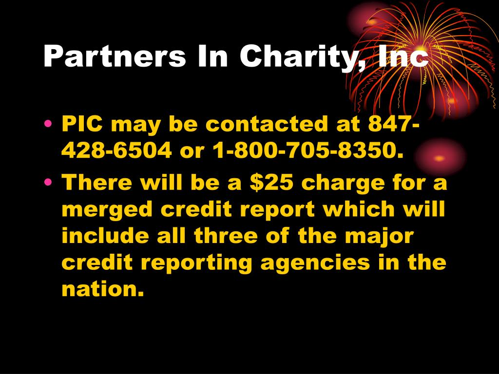 Partners In Charity, Inc