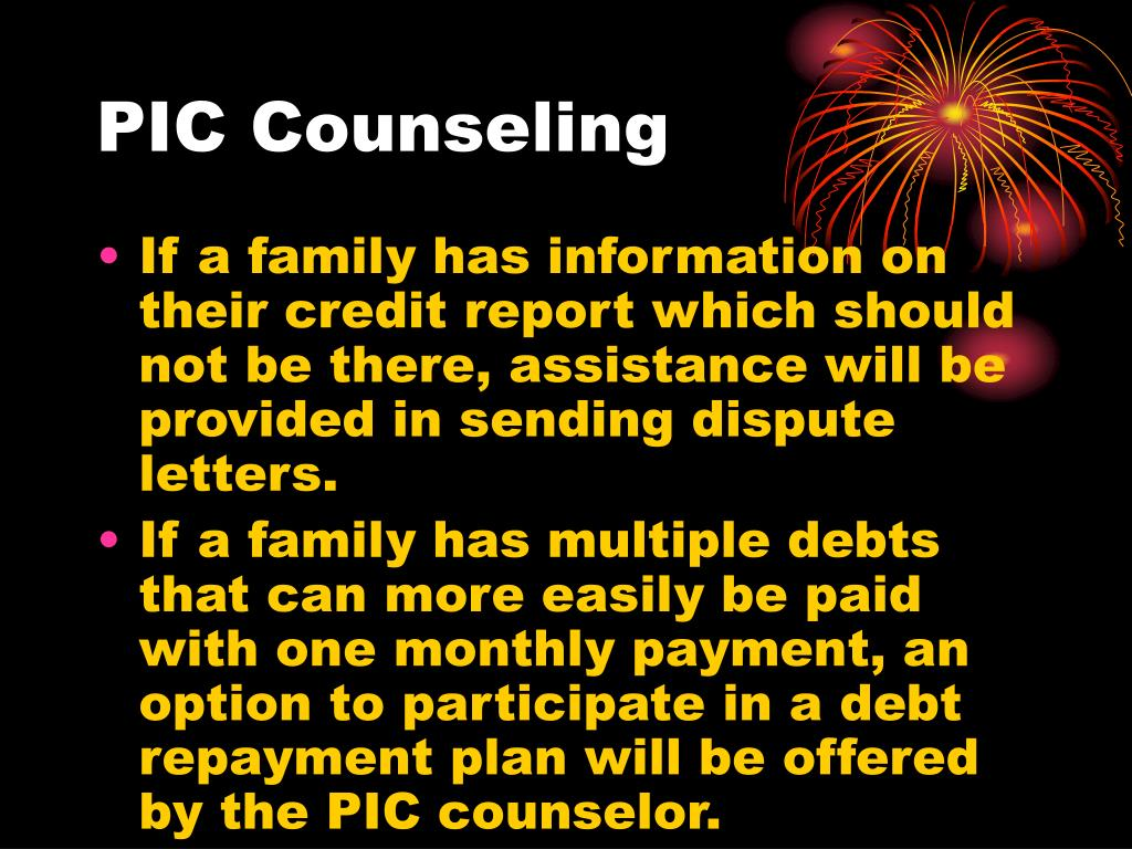 PIC Counseling