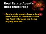 real estate agent s responsibilities