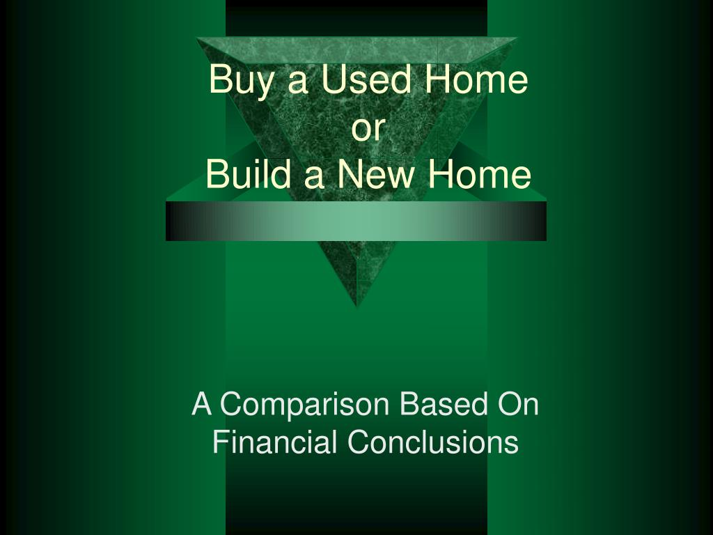 Buy a Used Home