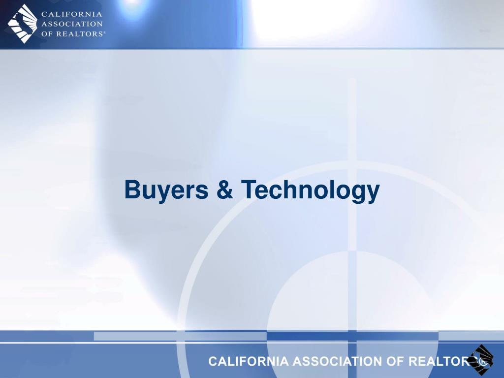 Buyers & Technology
