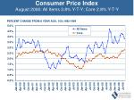 consumer price index august 2006 all items 3 8 y t y core 2 8 y t y