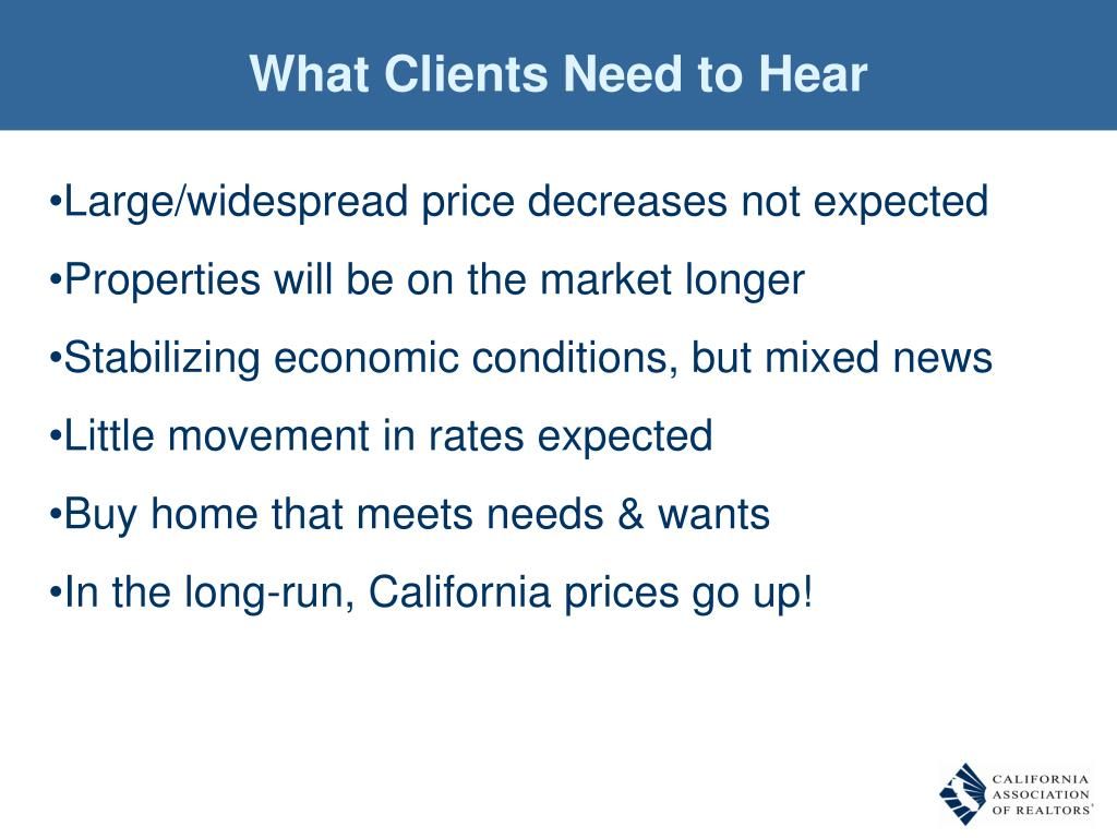 What Clients Need to Hear