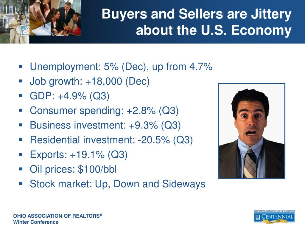 Buyers and Sellers are Jittery about the U.S. Economy