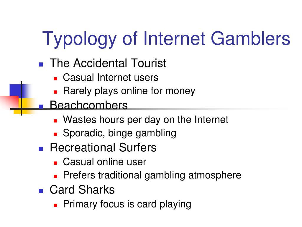 Typology of Internet Gamblers