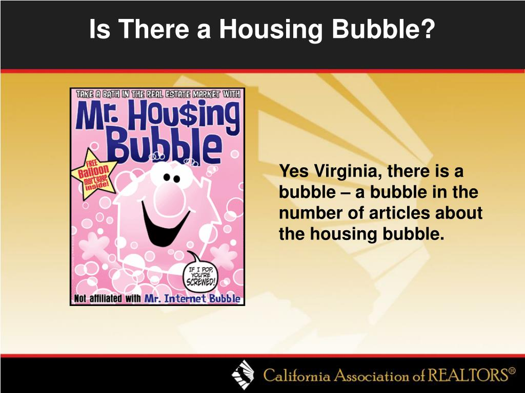 Is There a Housing Bubble?