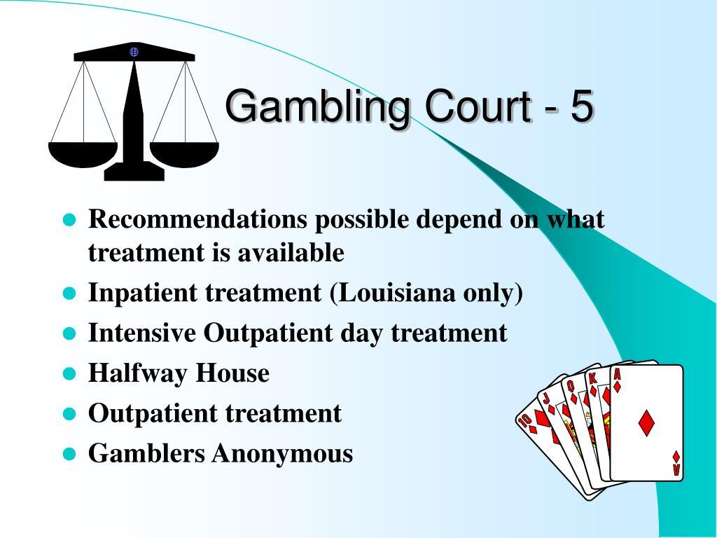 Problem gambling ppt