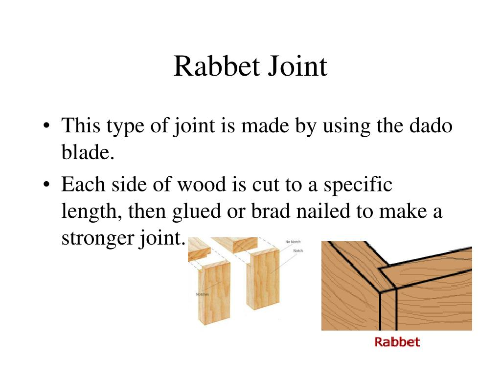 Rabbet Joint