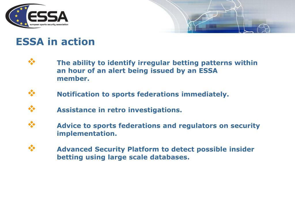 ESSA in action