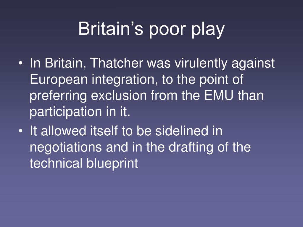Britain's poor play