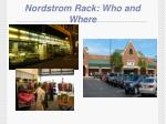 nordstrom rack who and where