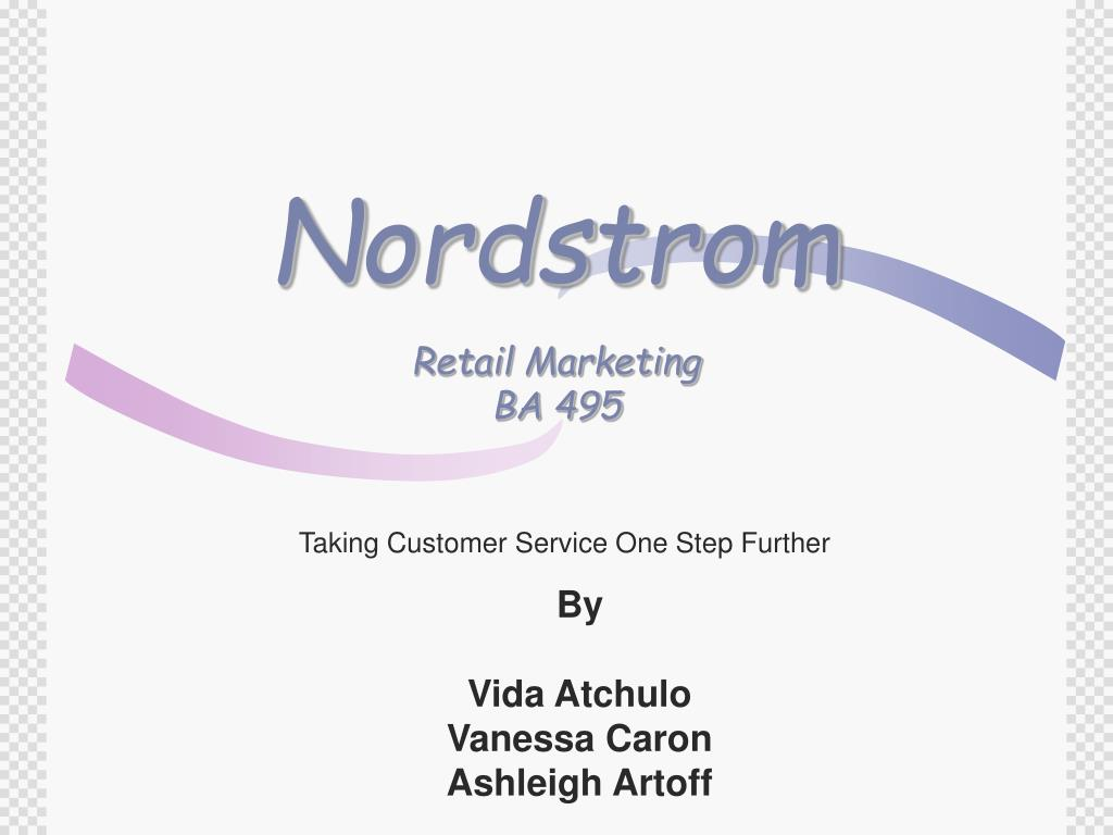 nordstrom retail marketing ba 495