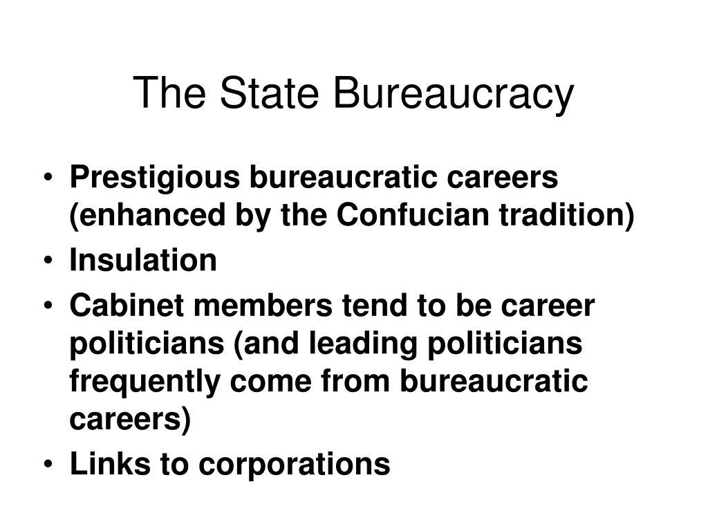 The State Bureaucracy