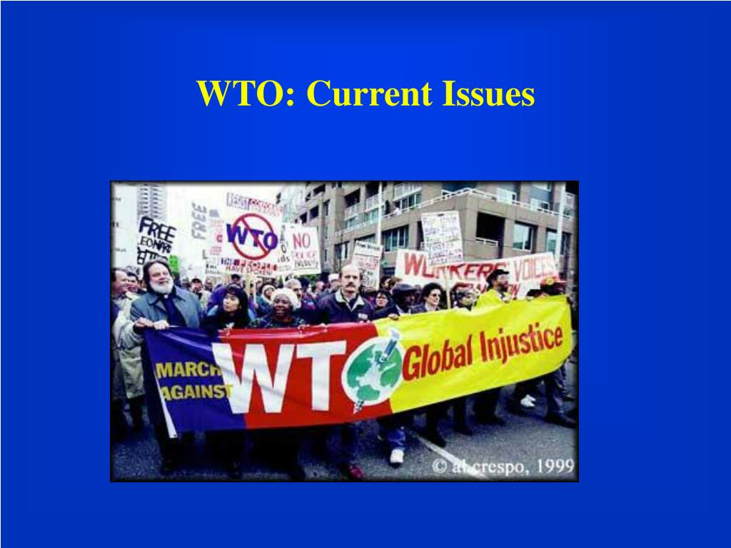 WTO: Current Issues