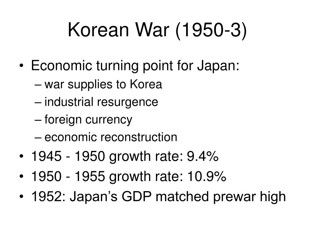 Korean War (1950-3)