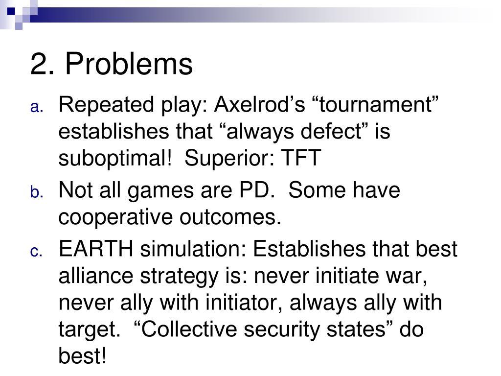 2. Problems