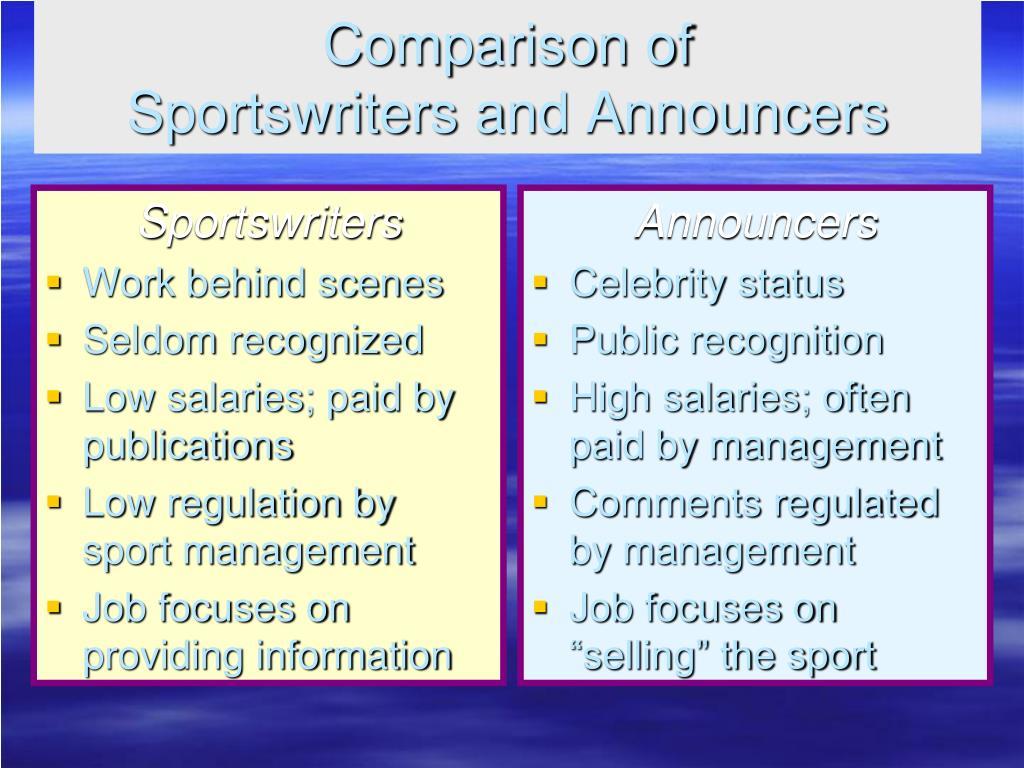 Sportswriters